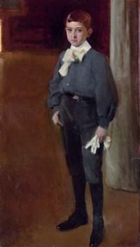 Retrato del niño José Maria Suárez